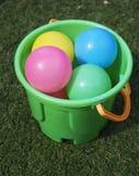 пластмасса шариков цветастая Стоковое фото RF