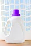 пластмасса nad прачечного корзины детержентная Стоковое Изображение