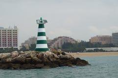 Плата за проезд моря - Алгарве, Португалии стоковая фотография