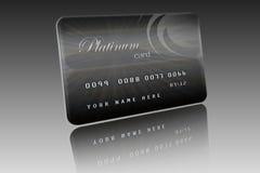 платина карточки Стоковые Фото