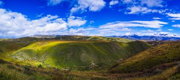 Плато Цинхая Тибета Стоковая Фотография