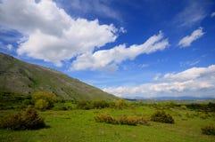 плато abruzzo стоковое изображение rf