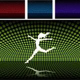 платформа девушки диско balett Стоковое Фото