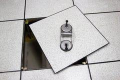 Платформа инструмента Lifter всасывания - открытый пол Стоковые Изображения RF