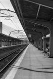 Платформа поезда Стоковые Фотографии RF