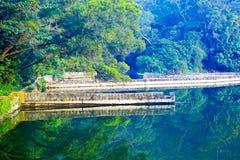 платформа рыболовства Стоковые Фото
