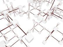 платформа связи Стоковые Фотографии RF