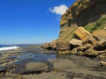 платформа скалы приливная Стоковое Изображение RF