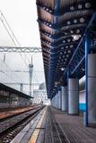 14 платформ с крышей Стоковые Изображения