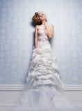 Платье венчания Стоковые Фото