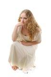 платье красотки с стоковая фотография rf