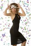 платье масленицы шикарное Стоковые Фото