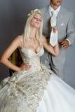 платье невесты стоковое изображение rf