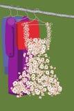 платье одежд Стоковое фото RF