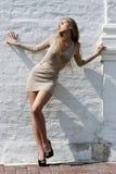 платье сексуальное стоковая фотография