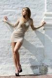 платье сексуальное стоковая фотография rf