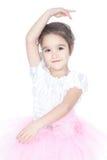 платье танцора балерины красивейшее немногая пинк Стоковая Фотография RF