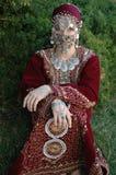 платье традиционное Стоковые Изображения