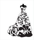 Платье цветка свадьбы Стоковые Фотографии RF