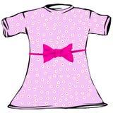 Платье девушки Стоковое фото RF