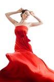 платье длиной Стоковые Фотографии RF