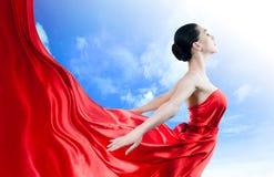 платье длиной Стоковая Фотография