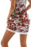 Платье #3 шнурка стоковое изображение rf