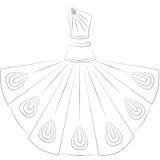 платье Стоковое Изображение RF