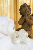 платье christening стоковые фотографии rf