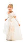 Платье princess красивейшего маленького танцора нося Стоковая Фотография RF