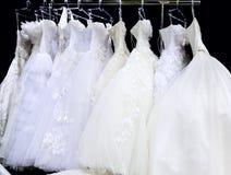 Платья венчания Стоковые Изображения