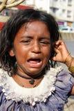 плача голод Стоковые Изображения RF