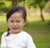 плача девушка немного стоковое изображение rf