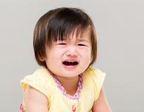 плача девушка немного стоковое изображение