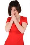 плача девушка Стоковая Фотография RF