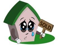 плача дом Стоковая Фотография RF
