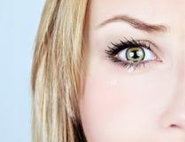 Плача женщина Стоковое Изображение