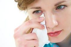 Плача женщина Стоковое Изображение RF