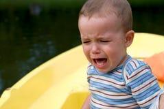 Плача мальчик Стоковая Фотография RF