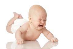 Плача младенец стоковые изображения