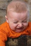 Плача младенец Стоковое фото RF