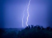 плача молния Стоковое Изображение RF
