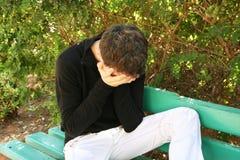 плача человек Стоковые Изображения