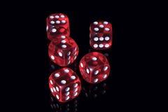 плашки казино стоковые изображения rf