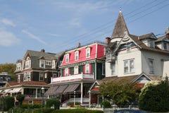 плаща-накидк Джерси может новый курортный город США Стоковые Изображения