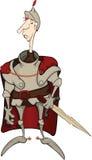 плащ рыцаря шаржа бесплатная иллюстрация
