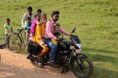 Племенной фестиваль в Индии стоковые фотографии rf
