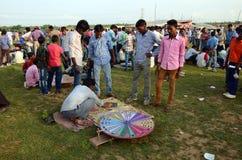 Племенной фестиваль в Индии стоковая фотография rf