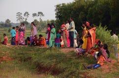 Племенной фестиваль стоковое фото rf