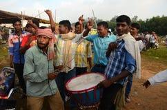 Племенной фестиваль-Chata Parab стоковые изображения